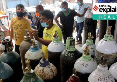 Paaiškino: koks yra deguonies krizės Indijoje mastas ir kokie yra jų sprendimo būdai